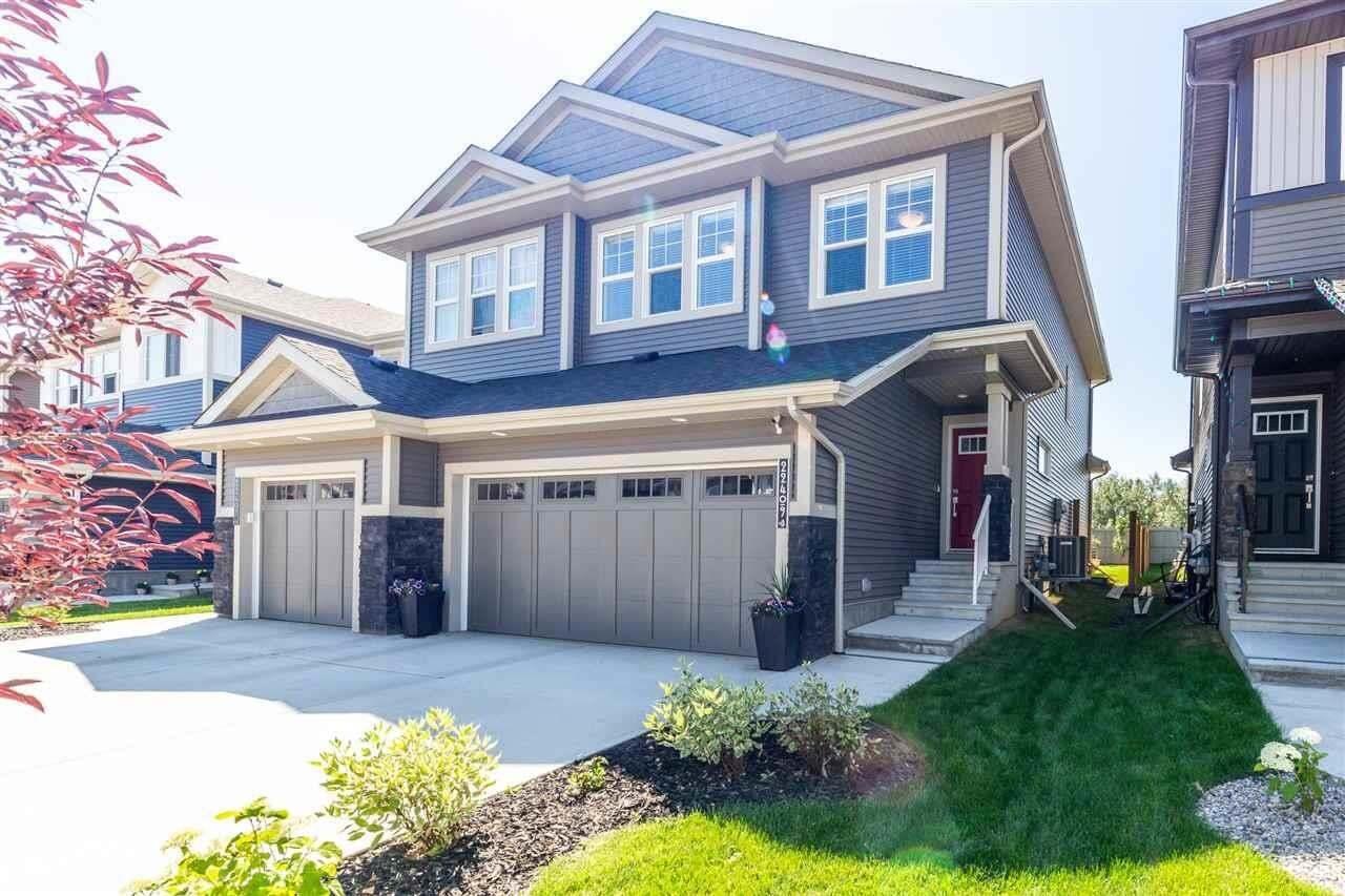 Townhouse for sale at 22409 80 Av NW Edmonton Alberta - MLS: E4208157