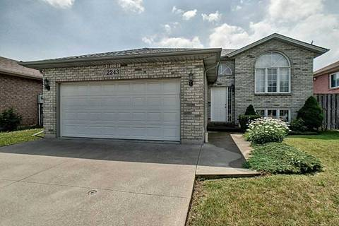 House for sale at 2243 Curry Ave Windsor Ontario - MLS: X4522702