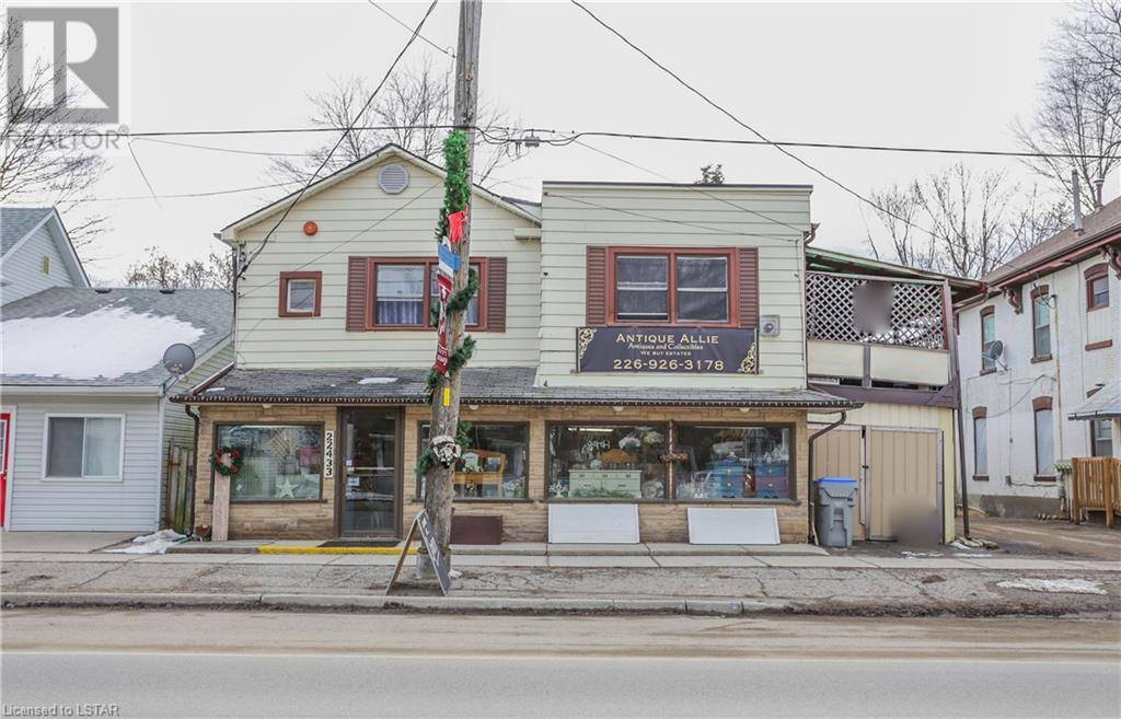 Commercial property for sale at 22433 Adelaide Rd Mount Brydges Ontario - MLS: 242884