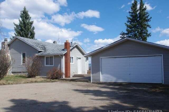 House for sale at 22567 Township Rd 662  Athabasca Alberta - MLS: AW51651