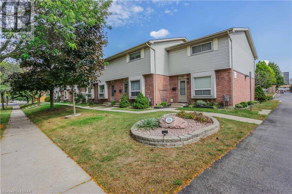 Townhouse for sale at 67 Highview Ave West Unit 226 London Ontario - MLS: 224705
