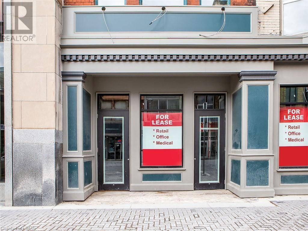 Commercial property for lease at 226 Dundas St London Ontario - MLS: 242412