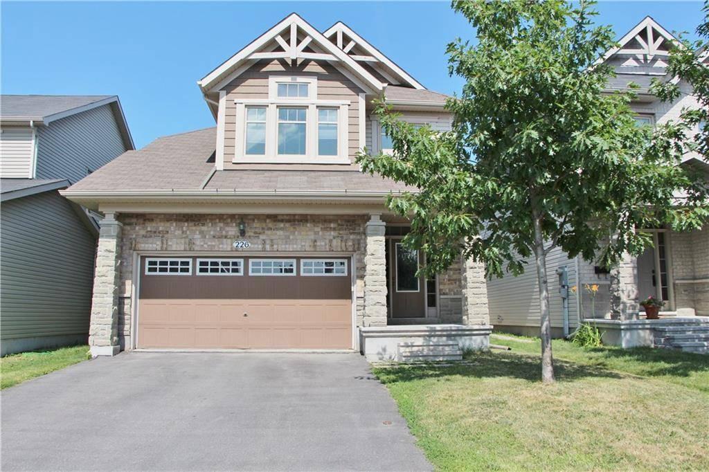 House for sale at 226 Keyrock Dr Ottawa Ontario - MLS: 1164417