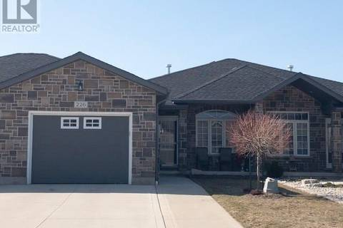 Townhouse for sale at 226 Stickel St Port Elgin Ontario - MLS: 185481