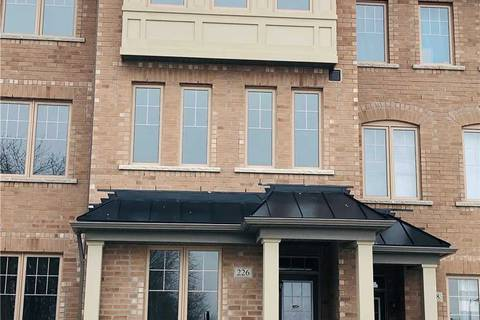 Townhouse for rent at 226 William Forster Rd Markham Ontario - MLS: N4637236