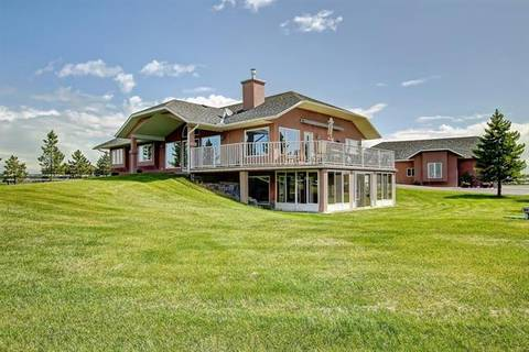 House for sale at 226016 76 St East Rural Foothills County Alberta - MLS: C4258824