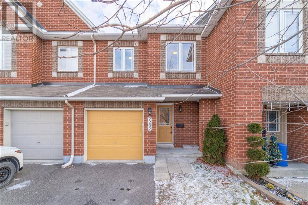 Townhouse for sale at 2262 Brockstone Cres Ottawa Ontario - MLS: 1177227
