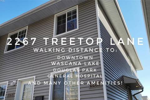 Townhouse for sale at 2267 Treetop Ln Regina Saskatchewan - MLS: SK801748