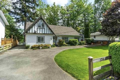 House for sale at 2268 Mckenzie Rd Abbotsford British Columbia - MLS: R2388197