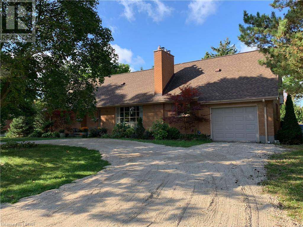 House for sale at 22691 Hyde Park Rd Ilderton Ontario - MLS: 224104