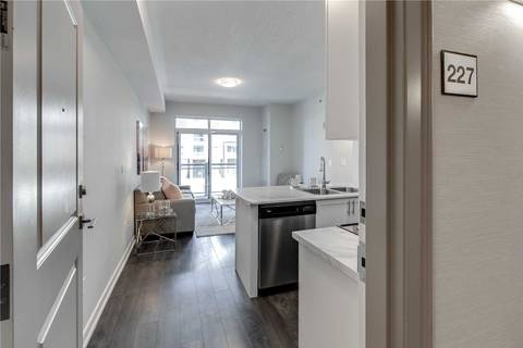 Condo for sale at 2490 Old Bronte Rd Unit 227 Oakville Ontario - MLS: W4487063