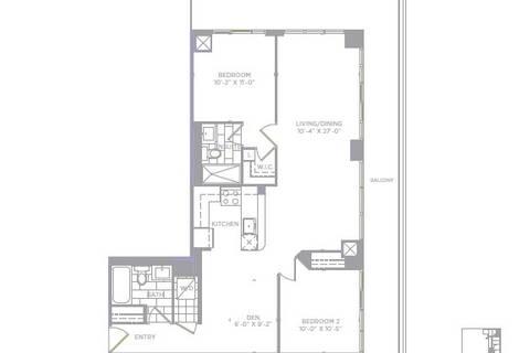 Apartment for rent at 30 Shore Breeze Dr Unit 227 Toronto Ontario - MLS: W4448237