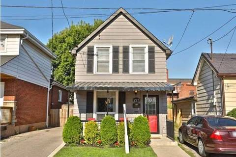 House for rent at 227 Belmont Ave Hamilton Ontario - MLS: X4657702