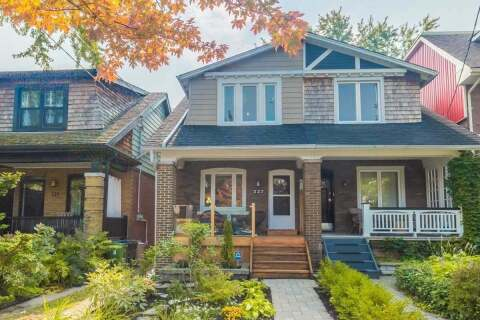 Townhouse for sale at 227 Fulton Ave Toronto Ontario - MLS: E4924188