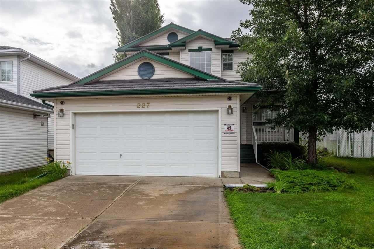 House for sale at 227 Hooper Cr NW Edmonton Alberta - MLS: E4207680