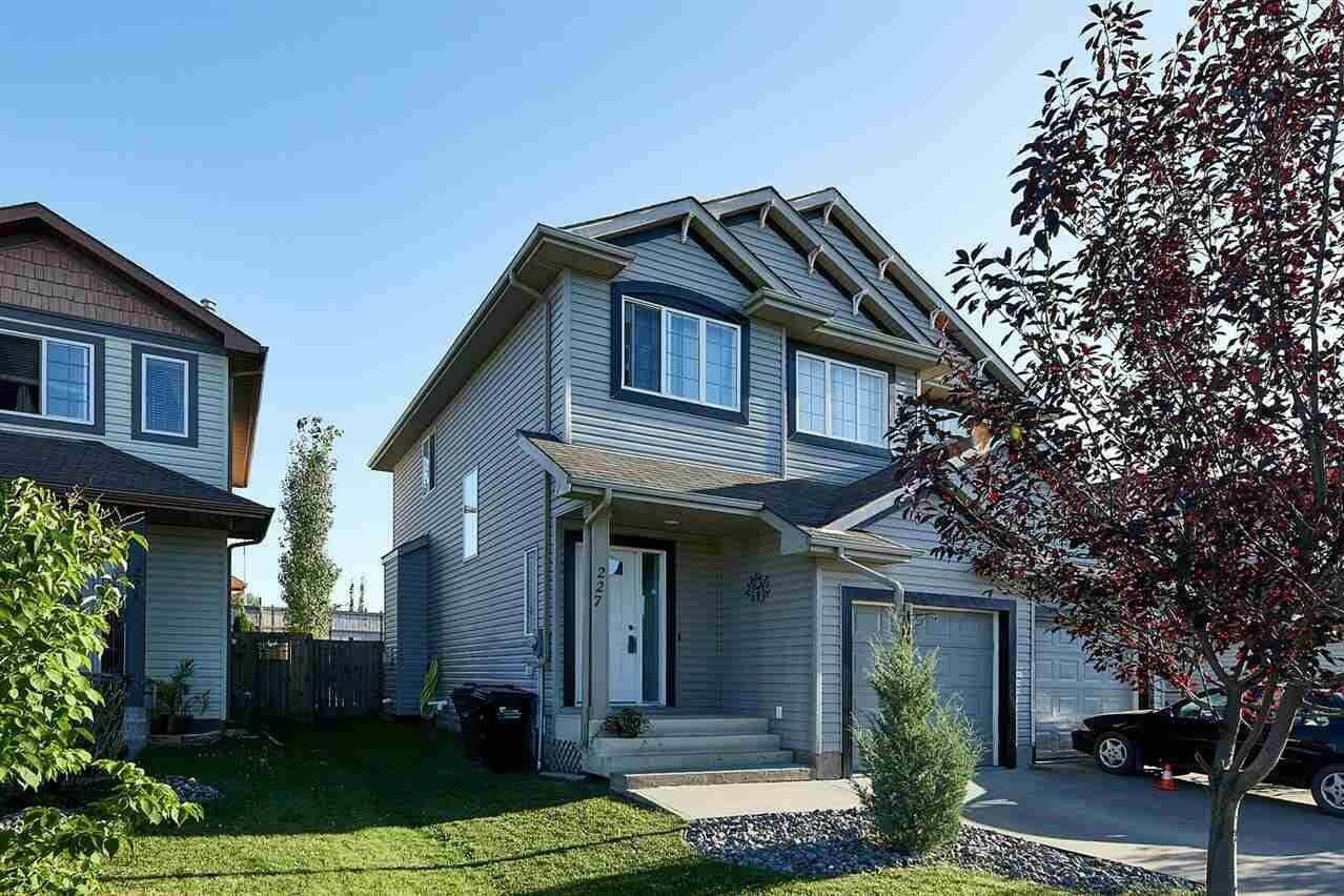 Townhouse for sale at 227 Summerton Cr Sherwood Park Alberta - MLS: E4209219
