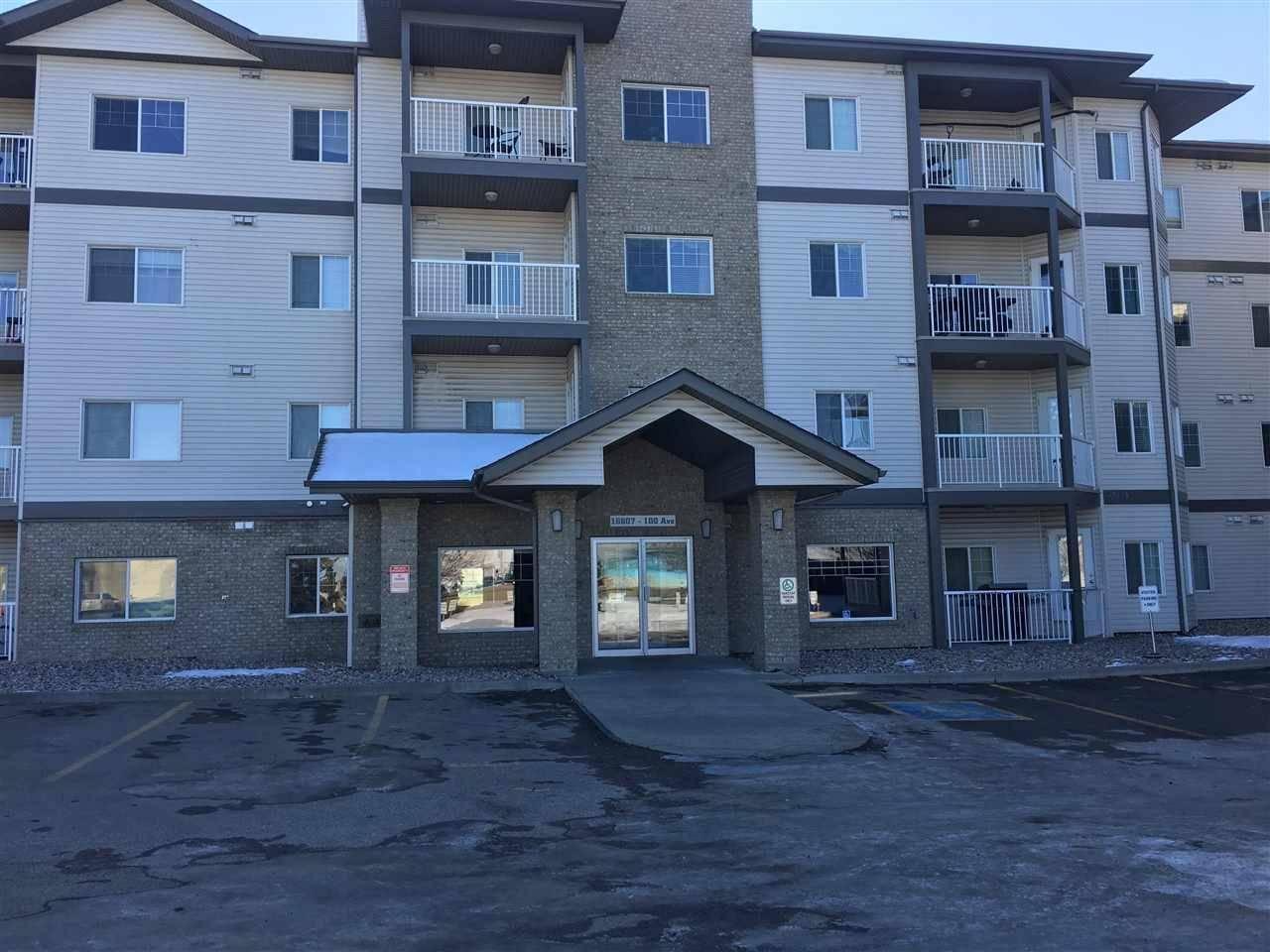 Condo for sale at 16807 100 Ave Nw Unit 228 Edmonton Alberta - MLS: E4173257