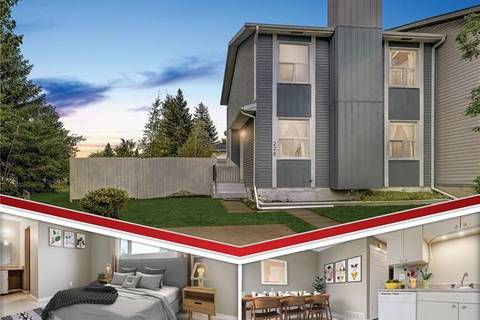 Townhouse for sale at 228 Deerview Ct Southeast Calgary Alberta - MLS: C4263287
