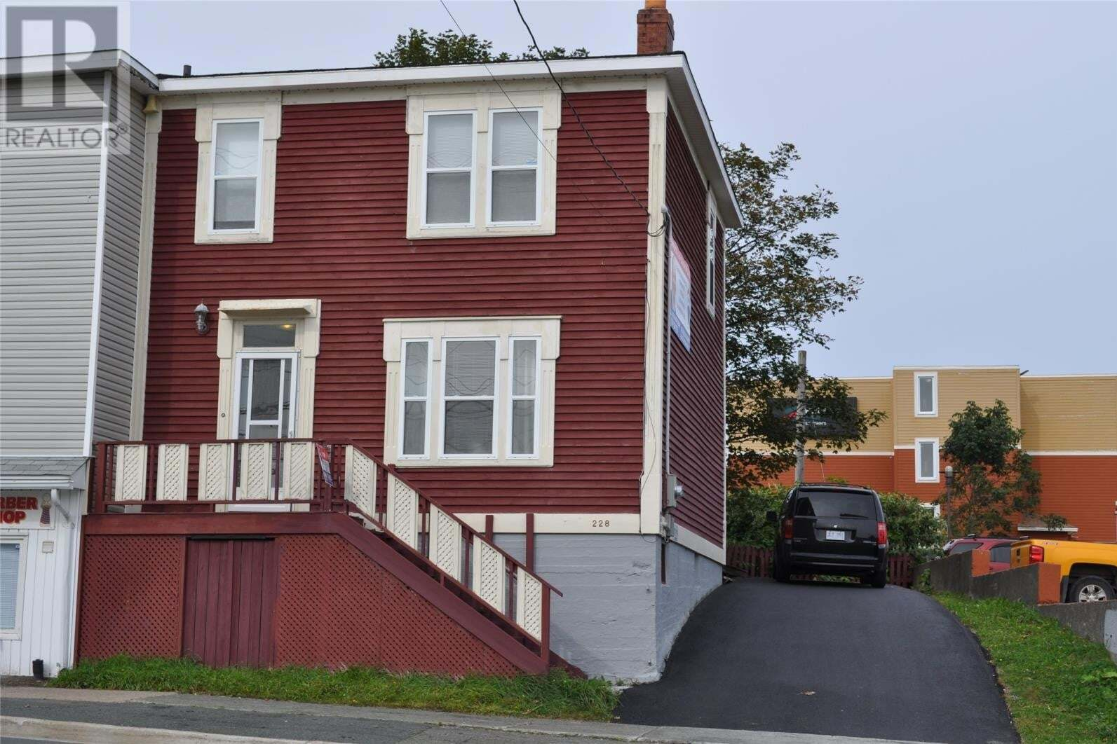 Commercial property for sale at 228 Lemarchant Rd St. John's Newfoundland - MLS: 1217100