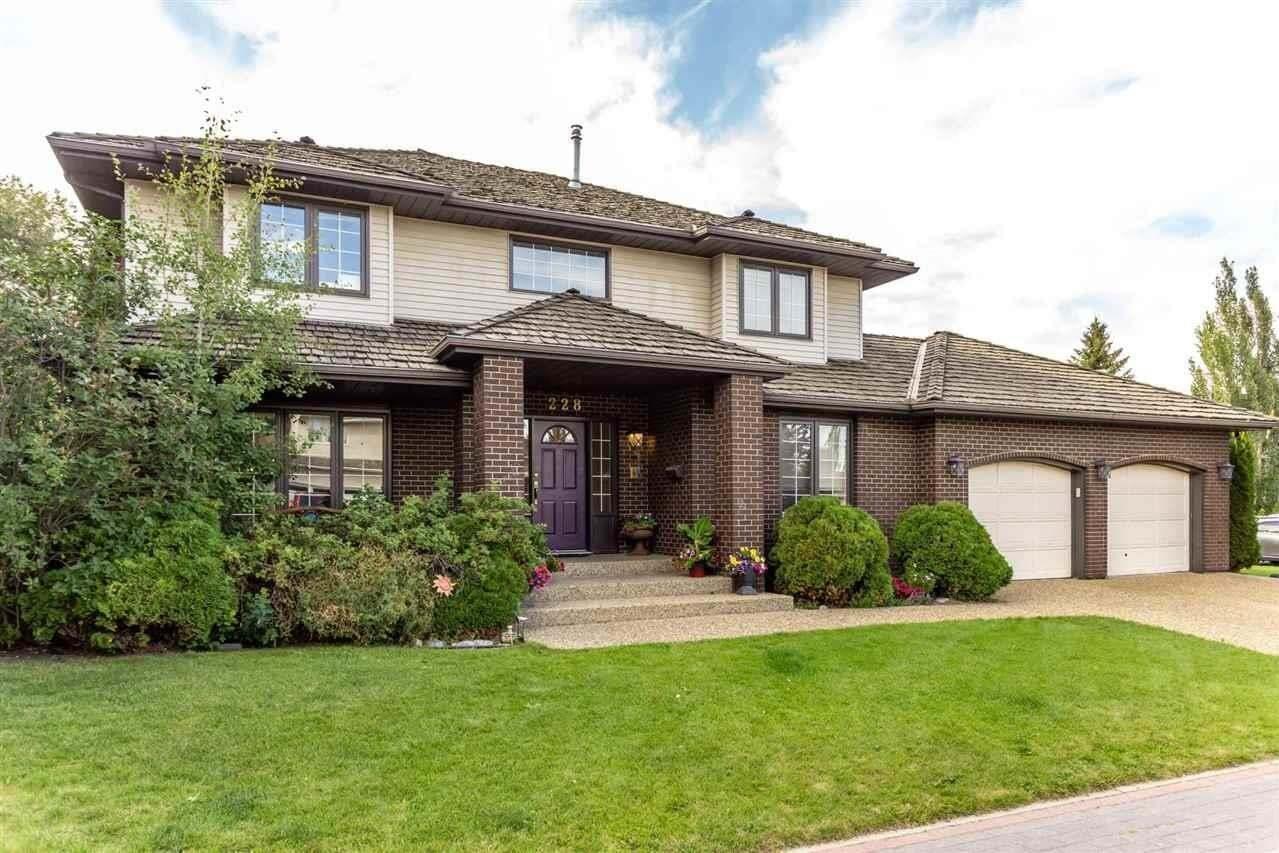 House for sale at 228 Whiston Rd NW Edmonton Alberta - MLS: E4212153