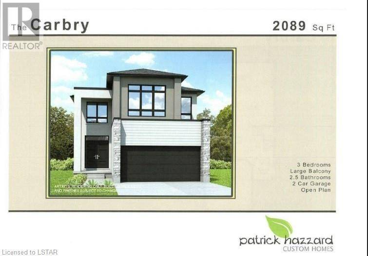 House for sale at 2287 Evans Blvd London Ontario - MLS: 234299