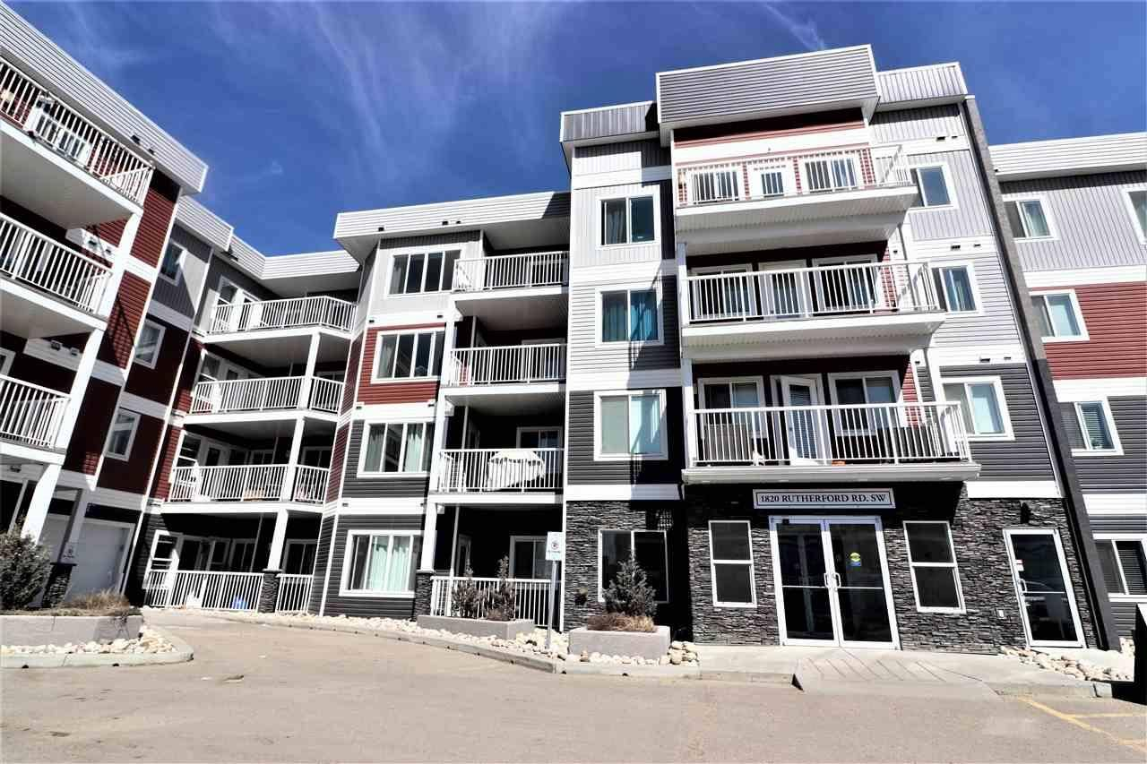 Condo for sale at 1820 Rutherford Rd Sw Unit 229 Edmonton Alberta - MLS: E4181817