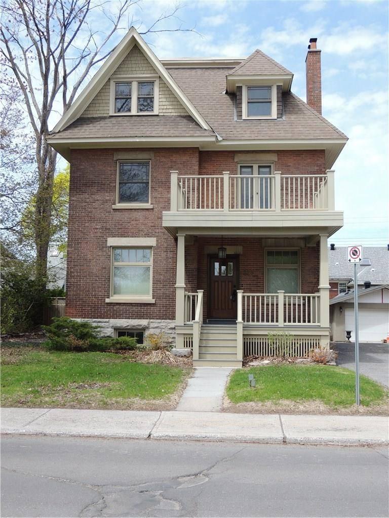 House for rent at 229 Glebe Ave Ottawa Ontario - MLS: 1151766