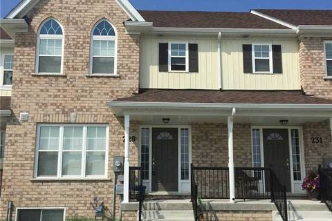 Townhouse for rent at 229 Rowberry Blvd Peterborough Ontario - MLS: X4495639