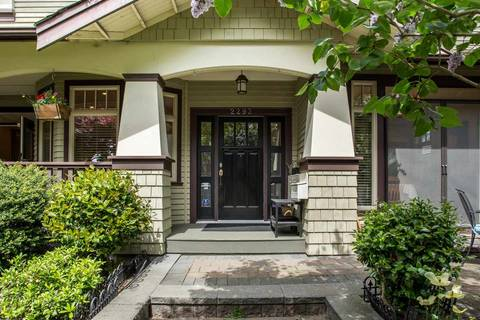 Townhouse for sale at 2293 13th Ave W Vancouver British Columbia - MLS: R2410989
