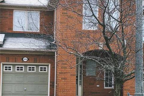 Townhouse for rent at 2294 Colbeck St Oakville Ontario - MLS: W4666115