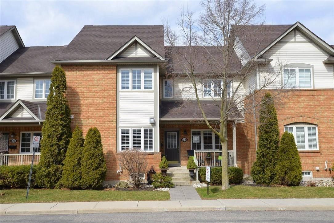 Townhouse for sale at 100 Beddoe Dr Unit 23 Hamilton Ontario - MLS: H4074985