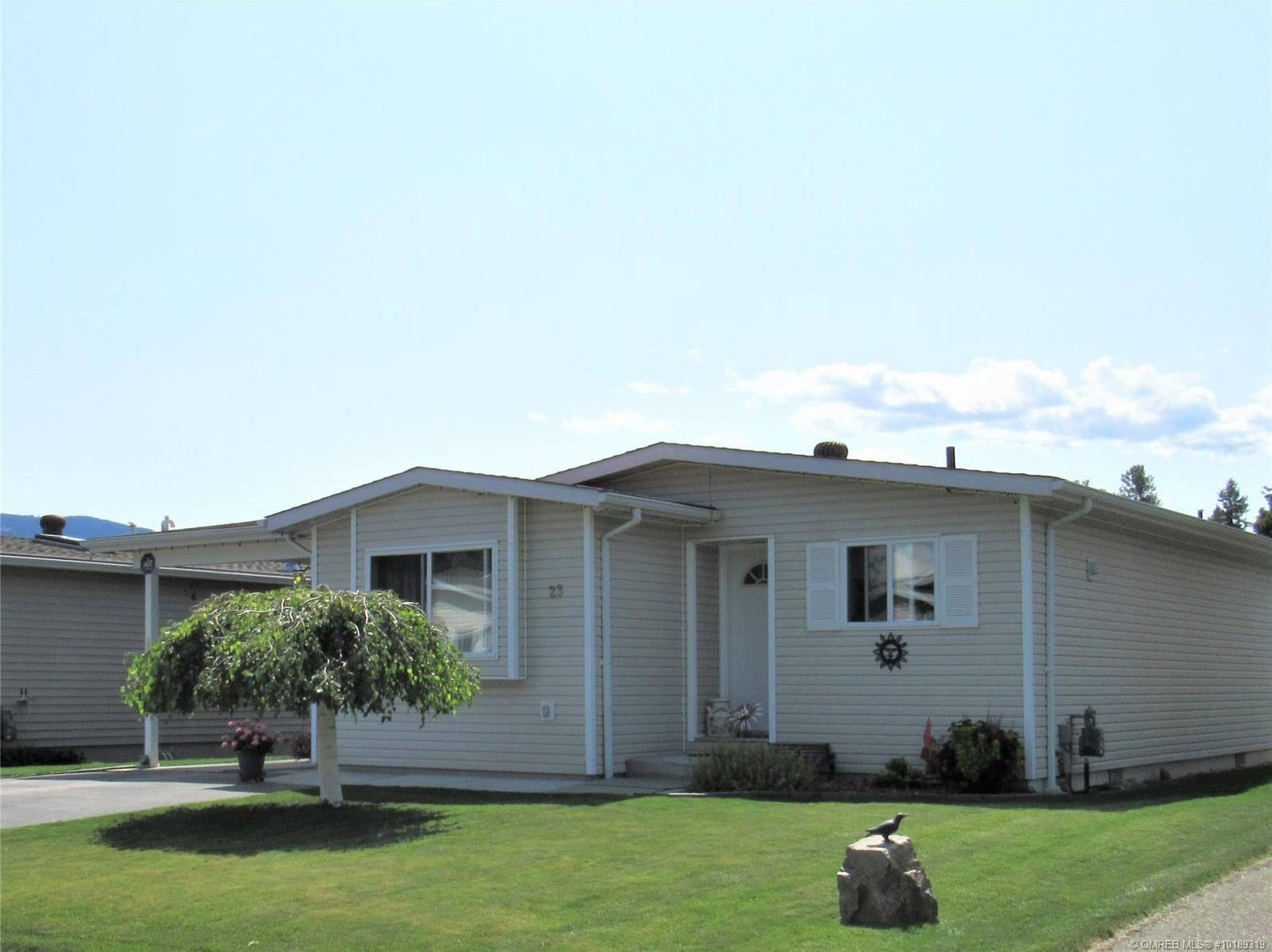 Residential property for sale at 130 Cliffview Ln Unit 23 Enderby British Columbia - MLS: 10189319