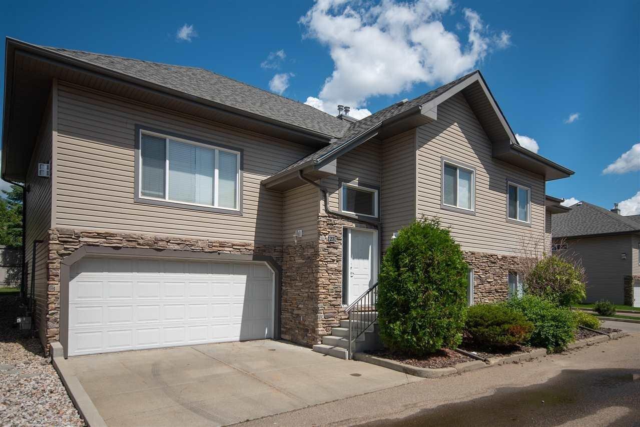 Townhouse for sale at 17715 96 Av NW Unit 23 Edmonton Alberta - MLS: E4205023