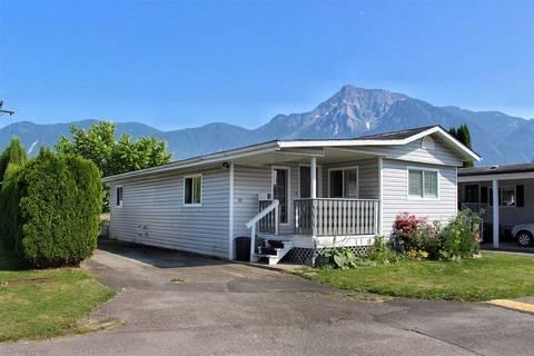 Home for sale at 1884 Heath Rd Unit 23 Agassiz British Columbia - MLS: R2335218