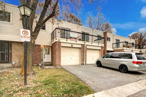 Condo for sale at 2315 Bromsgrove Rd Unit 23 Mississauga Ontario - MLS: W4646427