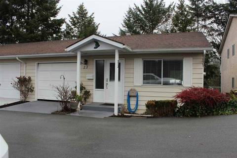 Townhouse for sale at 3292 Elmwood Dr Unit 23 Abbotsford British Columbia - MLS: R2419427