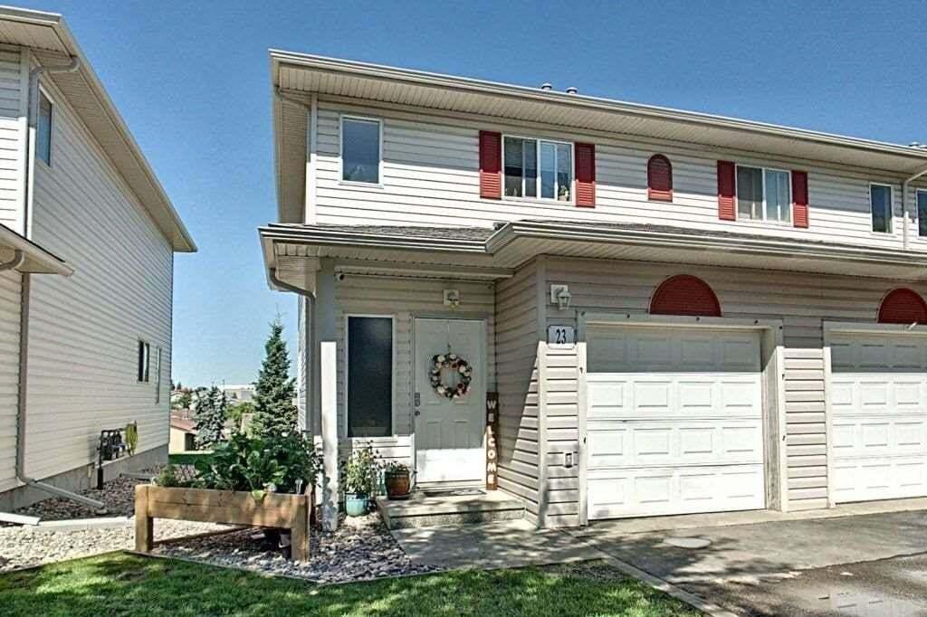 Townhouse for sale at 451 Hyndman Cr NW Unit 23 Edmonton Alberta - MLS: E4206150