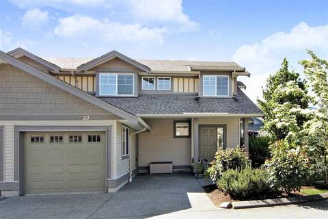 Townhouse for sale at 45545 Tamihi Wy Unit 23 Sardis British Columbia - MLS: R2370512
