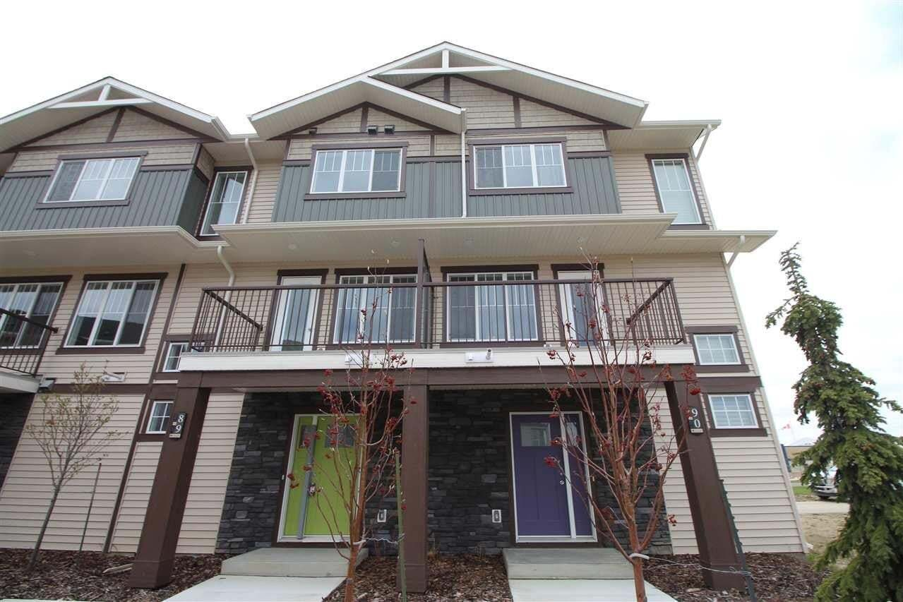 Townhouse for sale at 50 Mclaughlin Dr Unit 23 Spruce Grove Alberta - MLS: E4200618