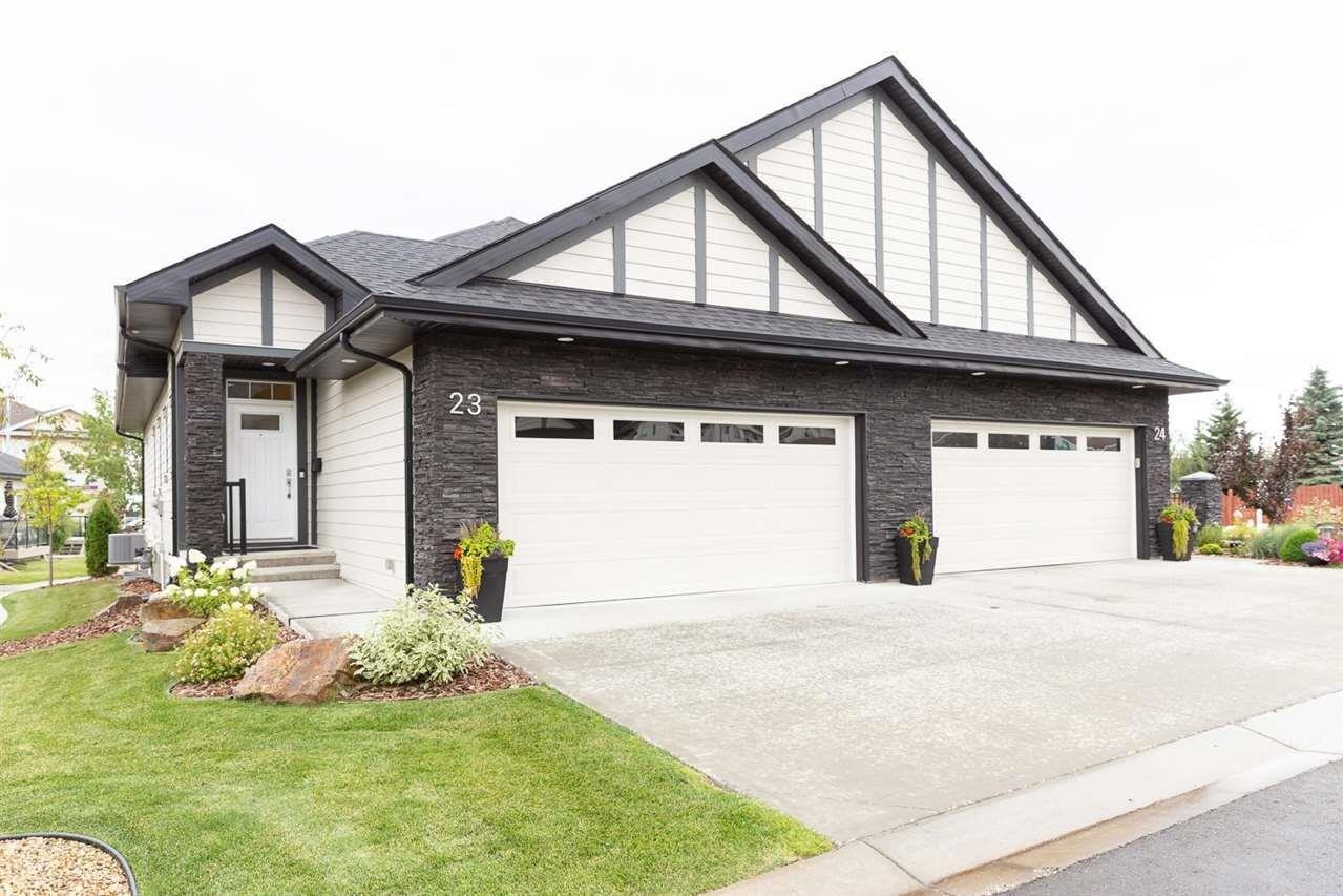 Townhouse for sale at 55 Cranford Dr Unit 23 Sherwood Park Alberta - MLS: E4214198