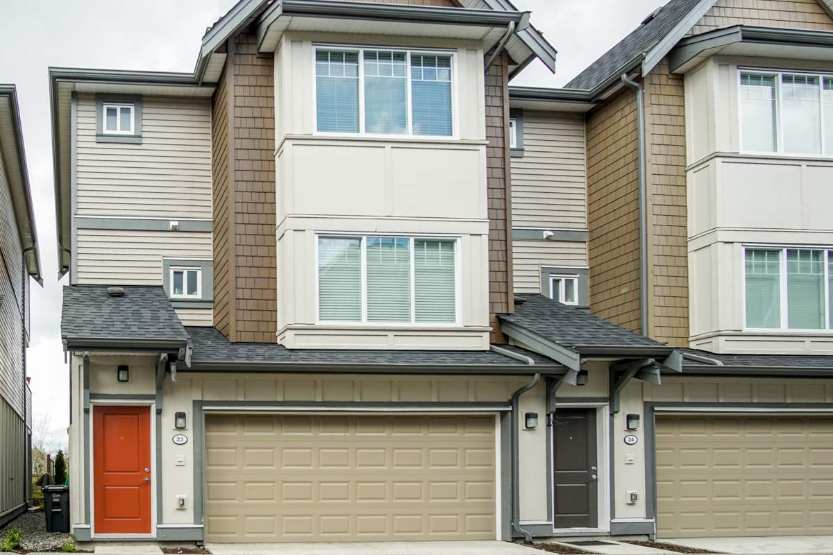 For Sale: 23 - 6971 122 Street, Surrey, BC | 4 Bed, 4 Bath Townhouse for $749,000. See 13 photos!