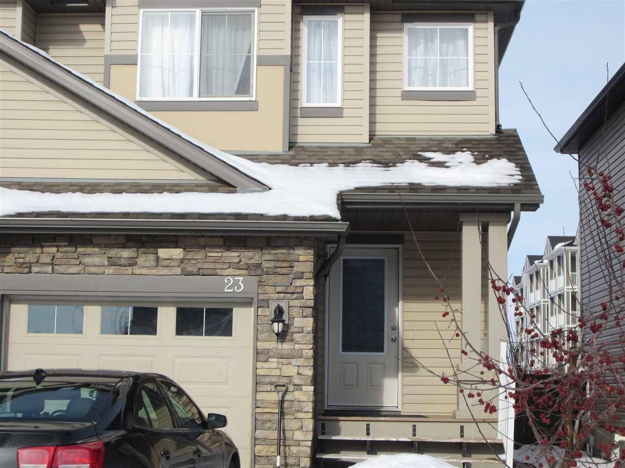 Townhouse for sale at 9231 213 St Nw Unit 23 Edmonton Alberta - MLS: E4187929