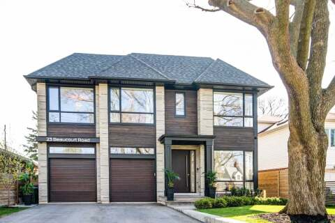 House for sale at 23 Beaucourt Rd Toronto Ontario - MLS: W4766541