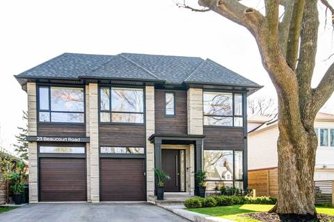 House for sale at 23 Beaucourt Rd Toronto Ontario - MLS: W4632318
