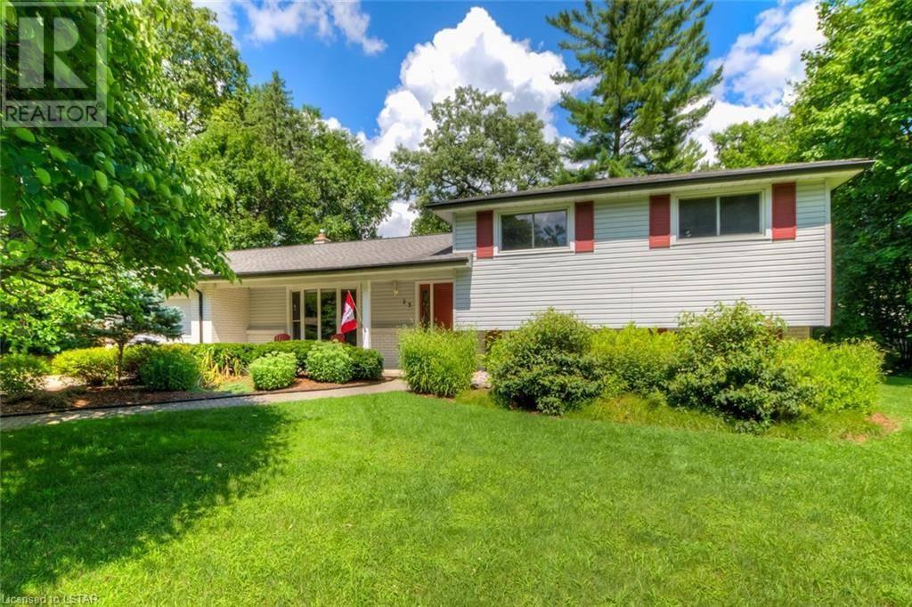 House for sale at 23 Blackburn Cres Komoka Ontario - MLS: 213133