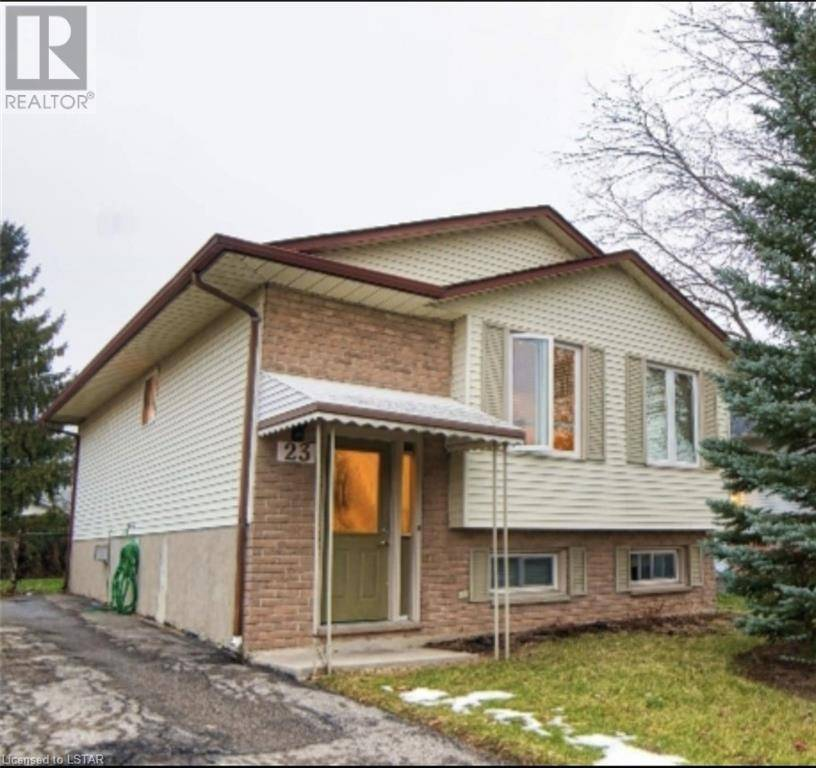 House for sale at 23 Blanchard Cres London Ontario - MLS: 247248