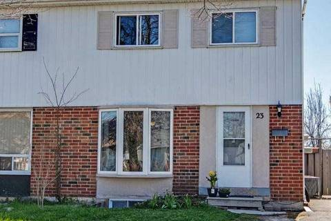 Townhouse for sale at 23 Brisbourne Grve Toronto Ontario - MLS: E4450302