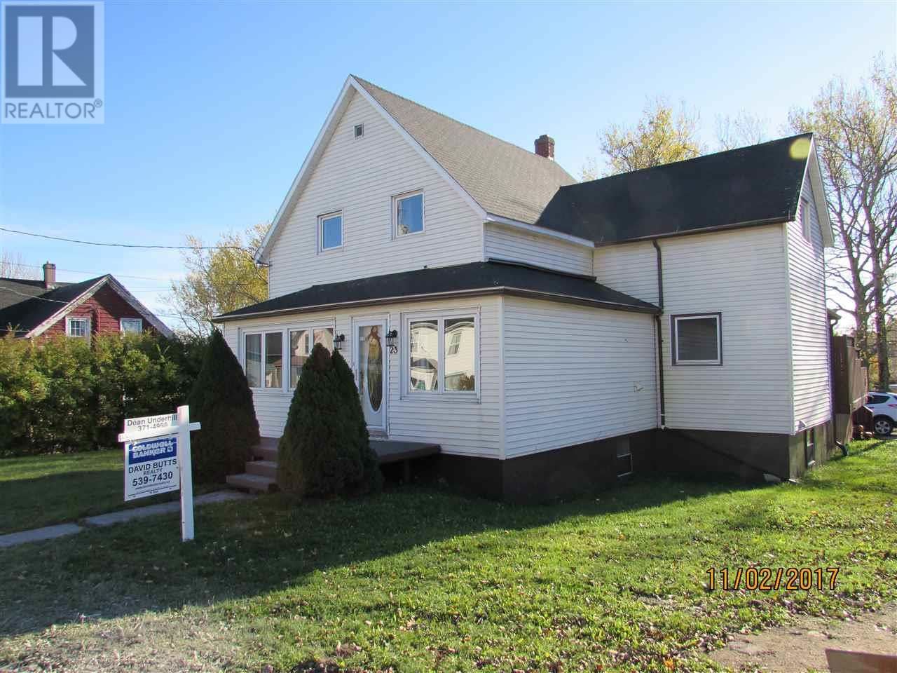 For Sale: 23 Currie Street, Glace Bay, NS   3 Bed, 2 Bath House for $149,900. See 21 photos!