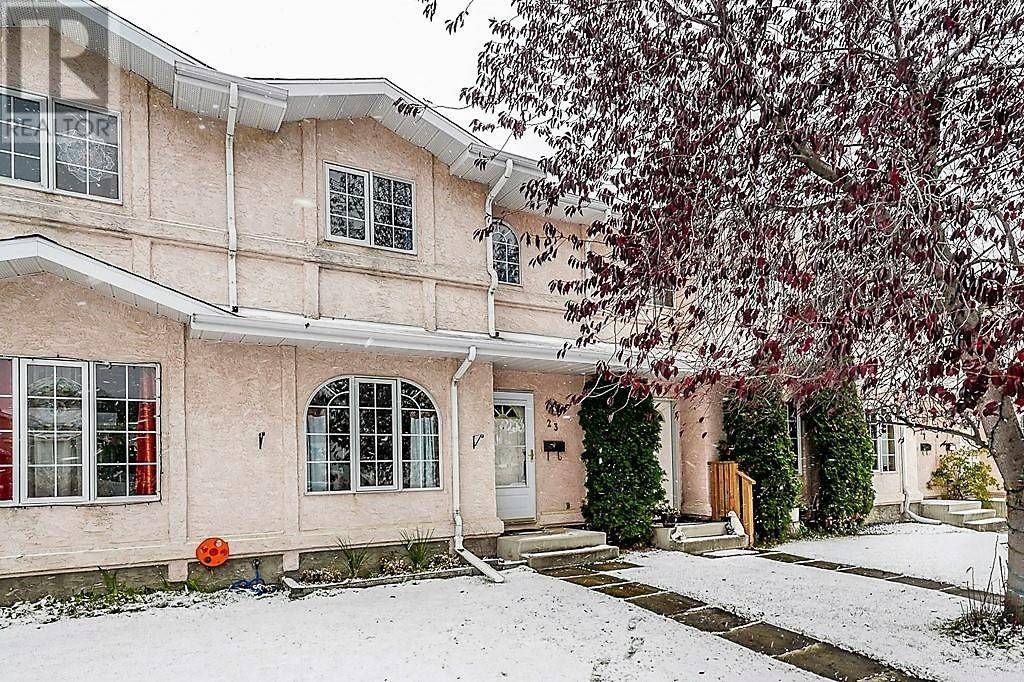 Townhouse for sale at 23 Dixon Cres Red Deer Alberta - MLS: ca0188178