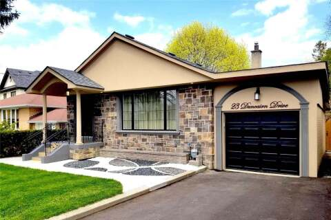 House for sale at 23 Duncairn Dr Toronto Ontario - MLS: W4763347
